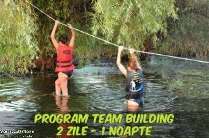 Program Team Building 2 zile - 1 noapte