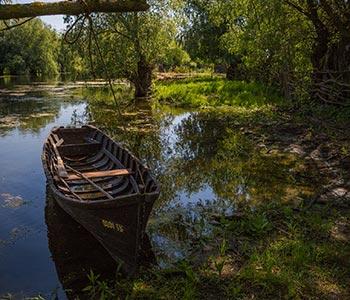 barca cu reme