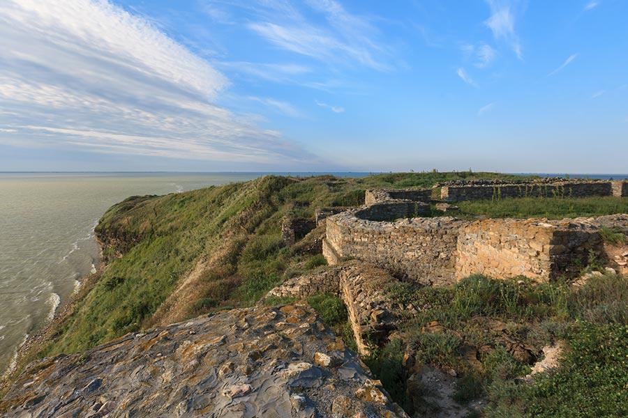 Cetate medievala in Delta Dunarii