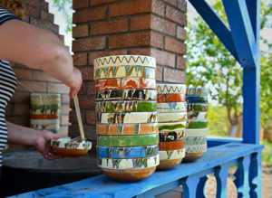 Mancare traditionala in Delta Dunarii