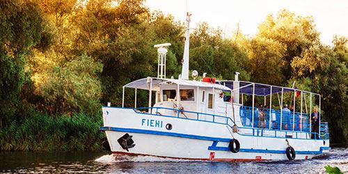 Croaziera cu vaporasul in Delta Dunarii